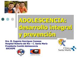 Adolescencia - Desarrollo Integral y Prevención