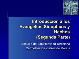 sinopticos hechos-2 - Carmelitas Descalzos Venezuela