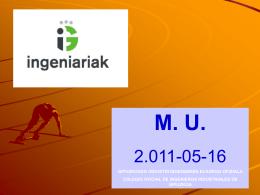 Diapositiva 1 - Colegio de Ingenieros Industriales de Gipuzkoa