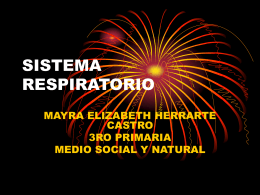 SISTEMA RESPIRATORIO MAYRA