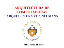 1ArqCompB- Arq. v. Neumann