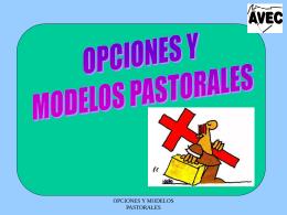 Opciones y Modelos Pastorales