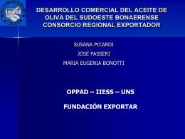 Opciones de organización empresaria para exportar