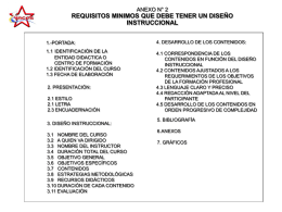 Requisitos Programa Instruccional