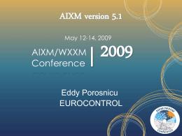 AIXM 5.1 Development
