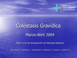 Caso Clínico Obstetricia - Sociedad Canaria de Patología Digestiva
