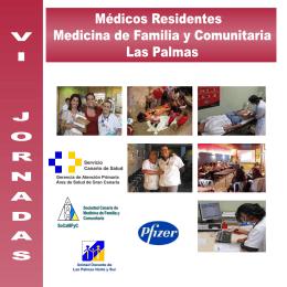VI JORNADAS Médicos Residentes Medicina de Familia y