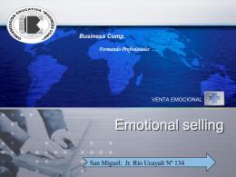 Ventas emocionales 2do modulo
