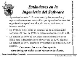 Estandares Internacionales (ISO 15504)