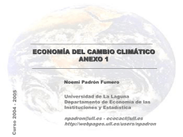 economía del cambio climático anexo 1