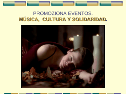 bambú eventos. música, cultura y solidaridad.