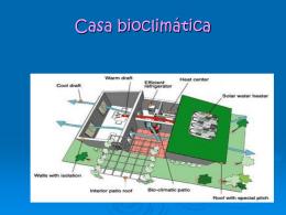 Casa bioclimática-almudena,yanira