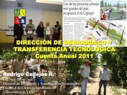 Cuenta Dirección Transferencia Tecnológica