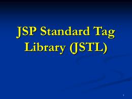 JSTL - cursillo-java