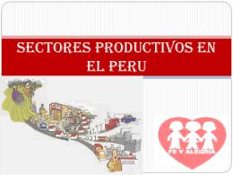 sectoresproductivosenelperu-100810192322-phpapp02