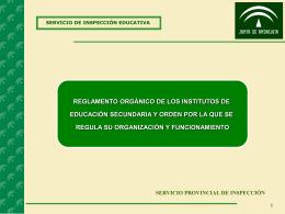 servicio provincial de inspección