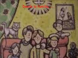Desde la familia - educando