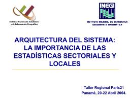 Arquitectura del Sistema: La Importancia de las Estadísticas
