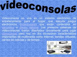 videoconsolas LUCIA - Este es el wiki de mi colegio