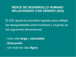 CALCULANDO IDG[1] - Escuela Virtual PNUD