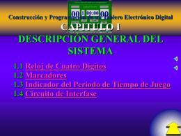 Construcción y Programación de un Tablero Electrónico Digital