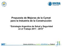 Diapositiva 1 - Cámara Argentina de la Construcción