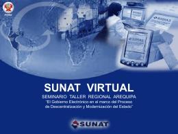 SUNAT Virtual