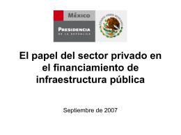 Proyectos para prestación de servicios