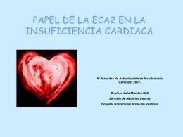 (ECA 2) en la IC Dr - Jornadas de Actualizacion Insuficiencia Cardiaca