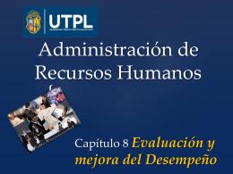 CAPITULO 8-2 arh 1 Evaluación y mejora del