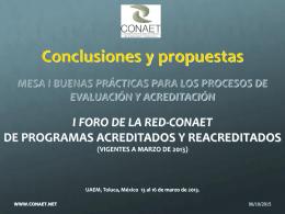conclusiones i bp 2013
