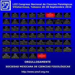 LIII Congreso Nacional de Ciencias Fisiológicas Villahermosa