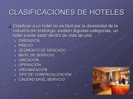 TEMA 3 - Introduccion-Hospitalidad