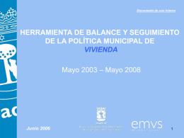 Balance - Ayuntamiento de Madrid