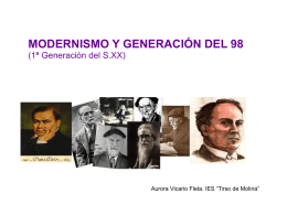 Modernismo y Generación del 98