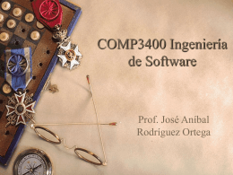 COMP3400 Ingeniería de Software