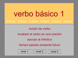 verbo_BÁSICO_1 - 9 letras