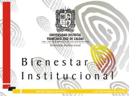Presentacion Bienestar Institucional