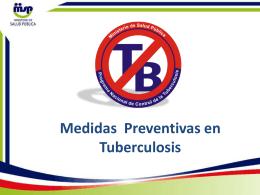 Terapia Preventiva con Isoniacida (TPI)
