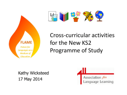 flame - CLIL4teachers