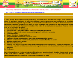 BOLETIN DE PRENSA MATRICULA 2014 JUNIO