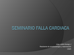 Seminario Falla Cardiaca