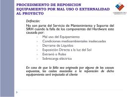 procedimientoreposicion