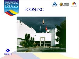 ICONTEC - Dr. Mario Tobón Londoño