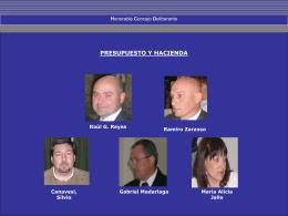Comisiones - Honorable Concejo Deliberante de Coronel Dorrego