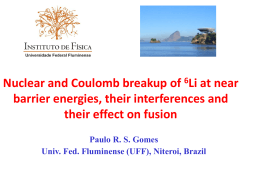 Nuclear and Coulomb breakup of 6Li at near barrier energies