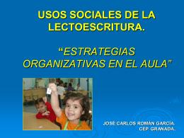 usos sociales lectoescritura