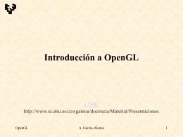 Introducción a OpenGL