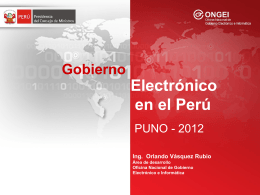 PPT - Gobierno Regional Puno