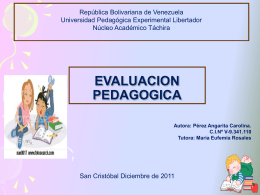 Estudio de Caso - evaluacionpsicopedagogica